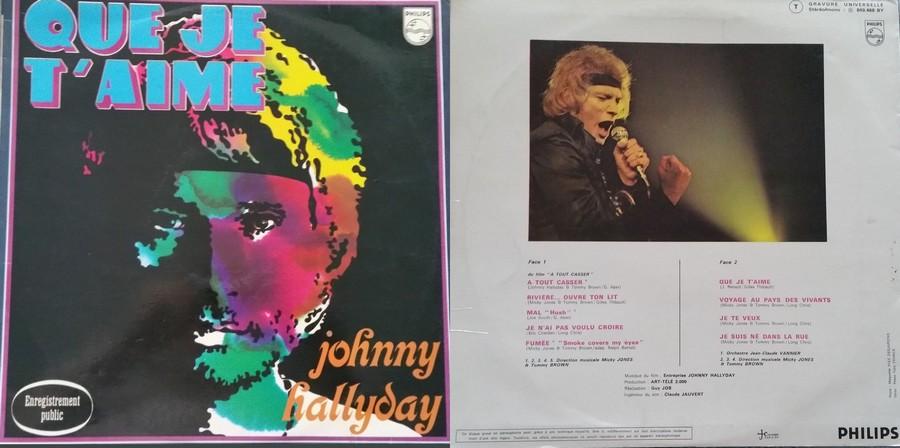 LES CONCERTS DE JOHNNY 'PALAIS DES SPORTS DE PARIS 1969' 1969_224