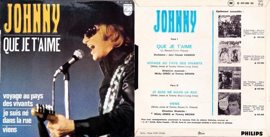 LES CONCERTS DE JOHNNY 'PALAIS DES SPORTS DE PARIS 1969' 1969_411