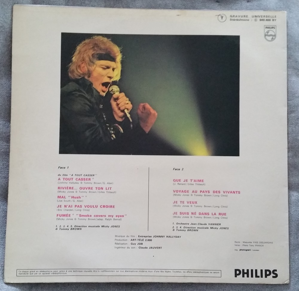 PALAIS DES SPORTS 1969 ( 33 TOURS 30CM )( TOUTES LES EDITIONS )( 1969-2021 ) 1969_q26