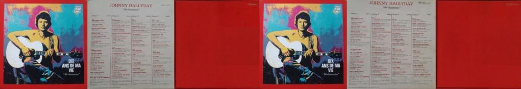 COFFRET 4 33 TOURS 'DIX ANS DE MA VIE' ( Philips )( 1970 & 1980 ) 1970-d10