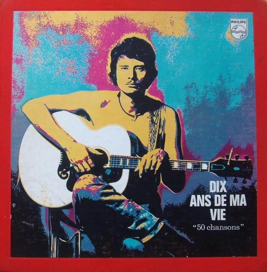 COFFRET 4 33 TOURS 'DIX ANS DE MA VIE' ( Philips )( 1970 & 1980 ) 1970-d11