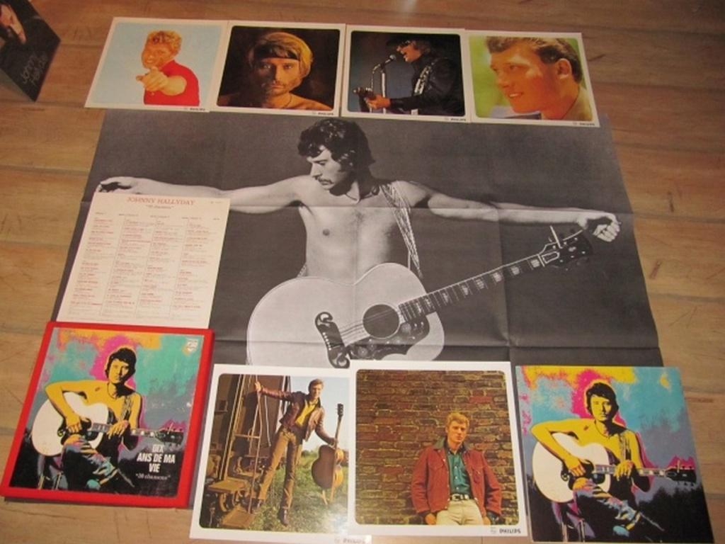 COFFRET 4 33 TOURS 'DIX ANS DE MA VIE' ( Philips )( 1970 & 1980 ) 1970-d14