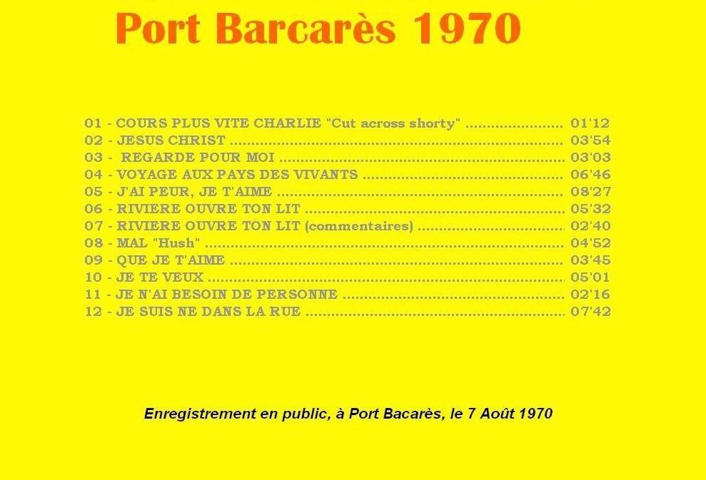 """Livre disque """" VIE """" en préparation - Page 2 1970-p10"""