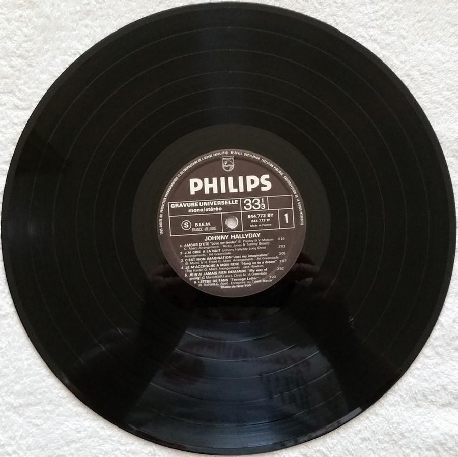 Johnny 67 ( 33 TOURS )( TOUTES LES EDITIONS )( 1967 - 2020 ) 1970_120