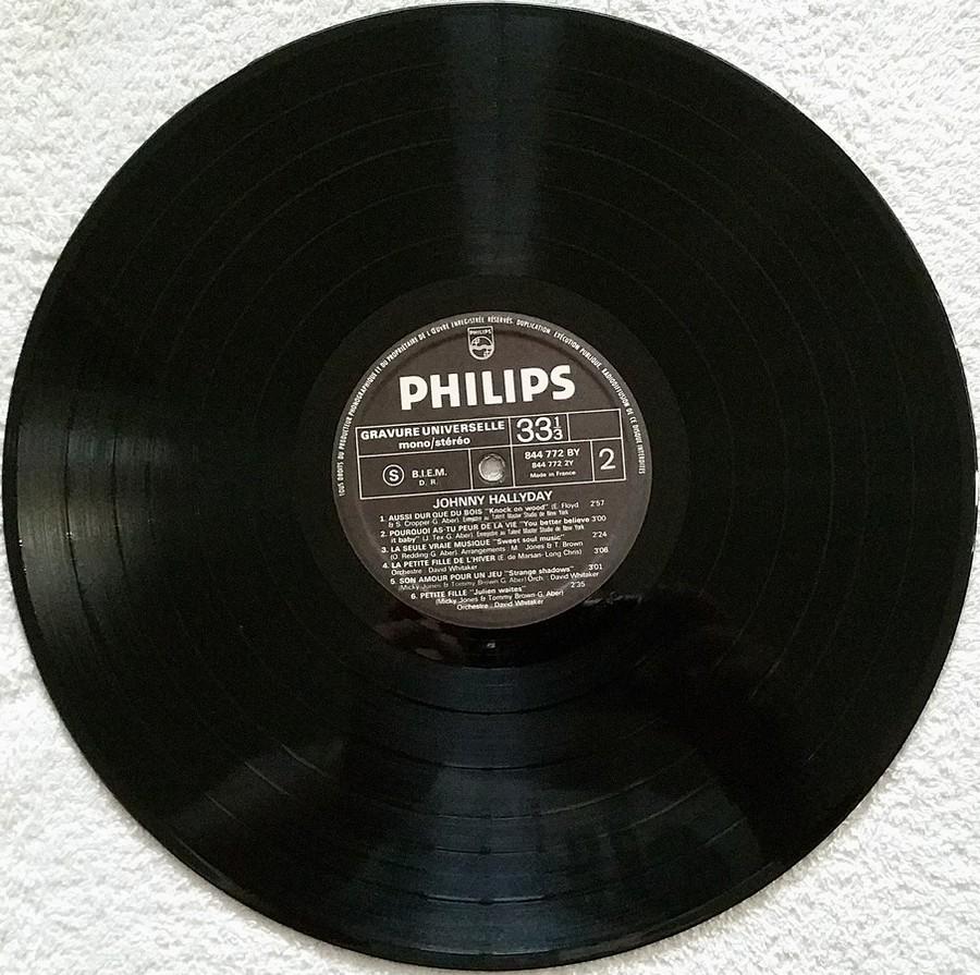 Johnny 67 ( 33 TOURS )( TOUTES LES EDITIONS )( 1967 - 2020 ) 1970_121