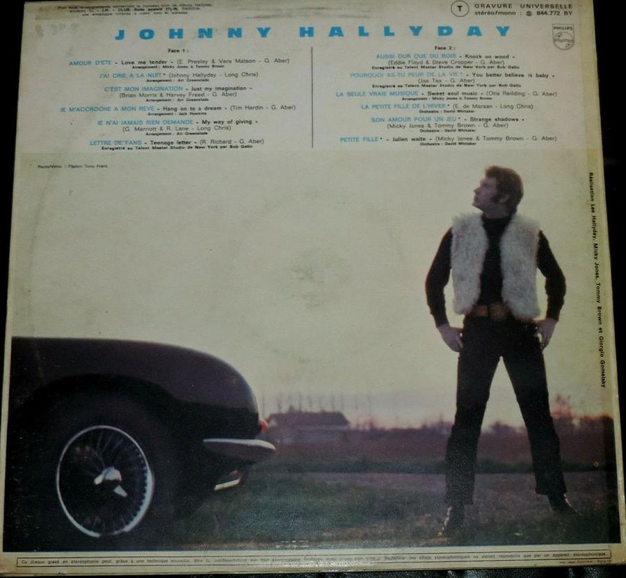 Johnny 67 ( 33 TOURS )( TOUTES LES EDITIONS )( 1967 - 2020 ) 1970_122