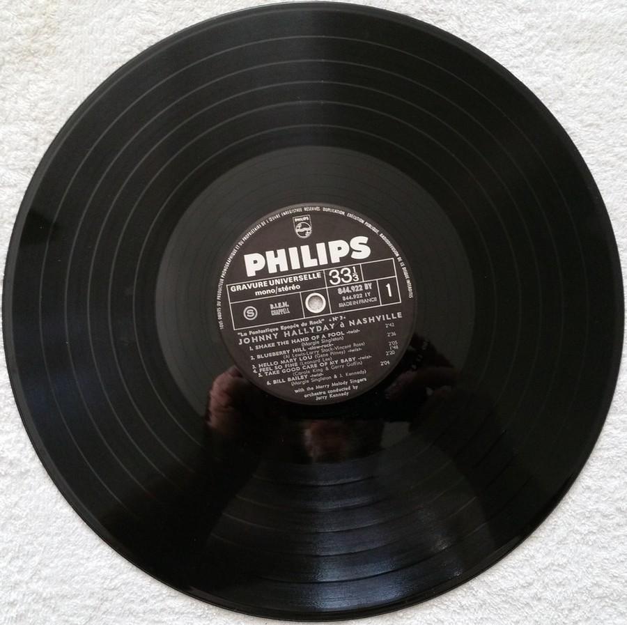 JOHNNY HALLYDAY A NASHVILLE ( 33 TOURS )( TOUTES LES EDITIONS )( 1968 - 1982 ) 1970_j11