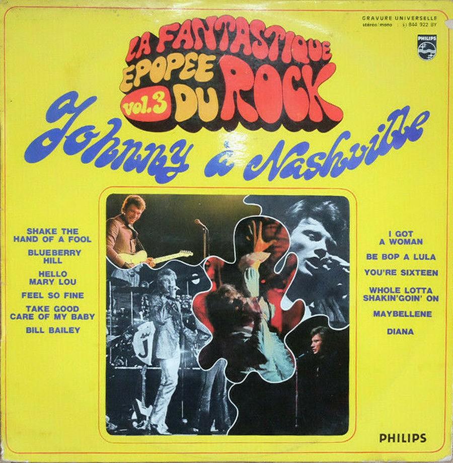 JOHNNY HALLYDAY A NASHVILLE ( 33 TOURS )( TOUTES LES EDITIONS )( 1968 - 1982 ) 1970_j12