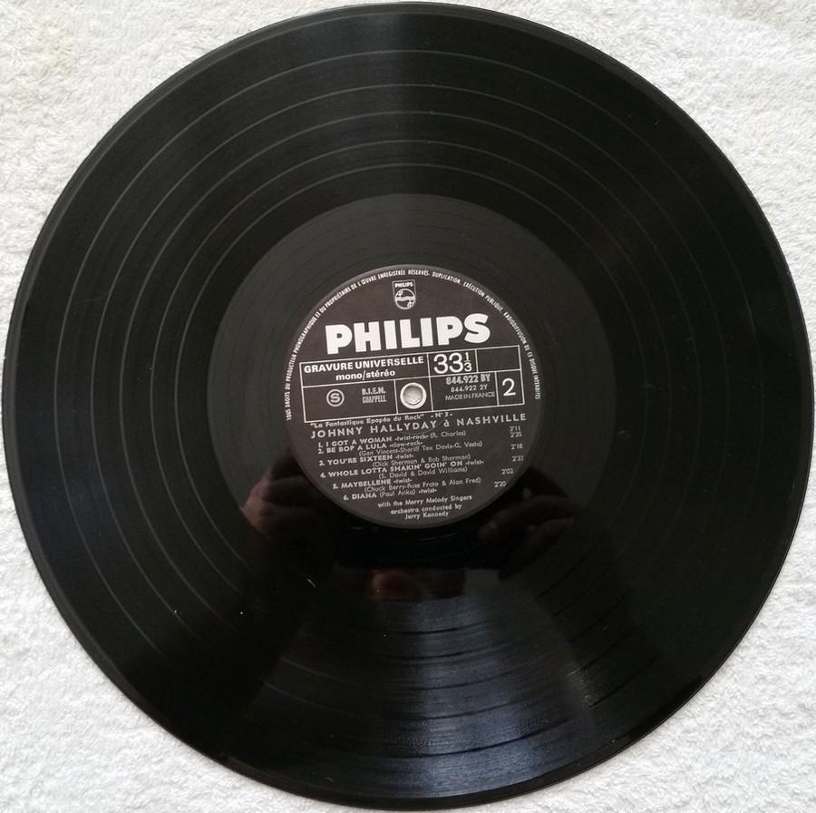 JOHNNY HALLYDAY A NASHVILLE ( 33 TOURS )( TOUTES LES EDITIONS )( 1968 - 1982 ) 1970_j13