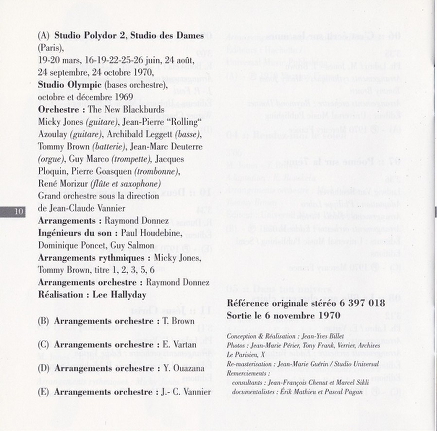 COLLECTION DES 40 ALBUMS CD ( UNIVERSAL )( 2000 ) - Page 2 1970_v23