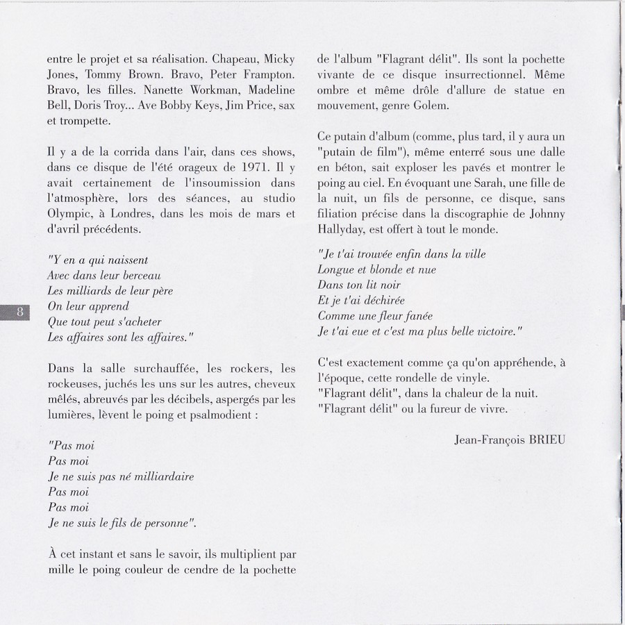 COLLECTION DES 40 ALBUMS CD ( UNIVERSAL )( 2000 ) - Page 2 1971_f20