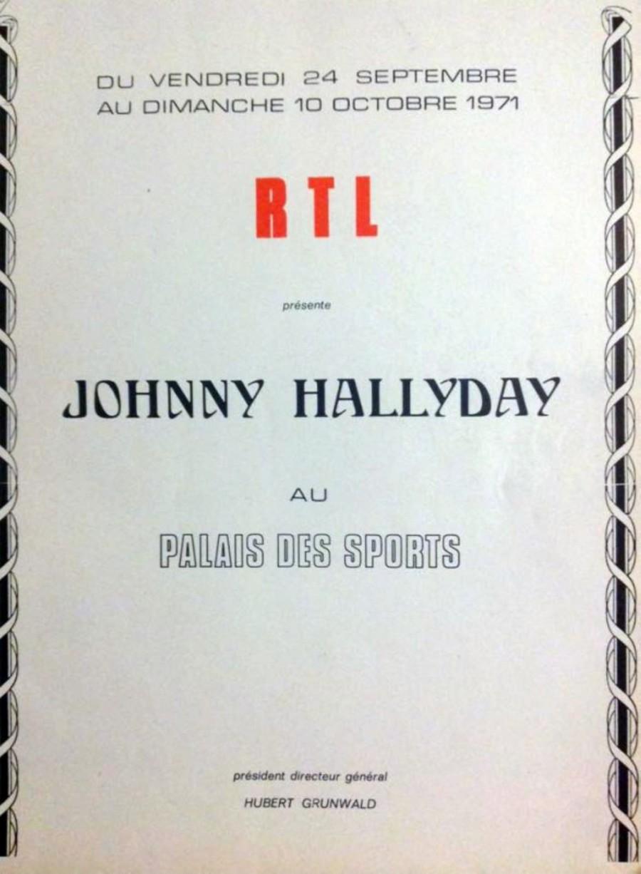LES CONCERTS DE JOHNNY 'PALAIS DES SPORTS 1971' 1971pa13