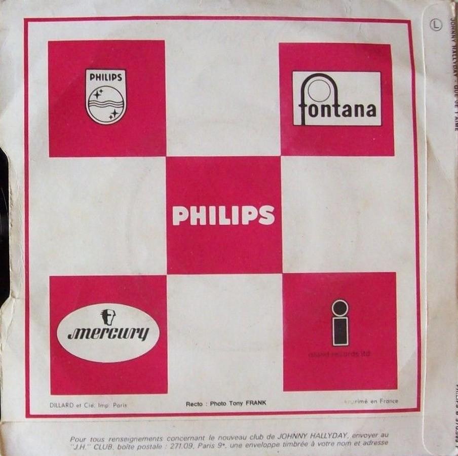 Que je t'aime ( SP )( Différentes variantes ) 1972_013