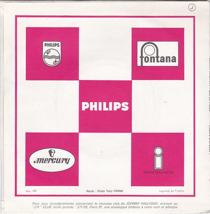 Que je t'aime ( SP )( Différentes variantes ) 1972_017