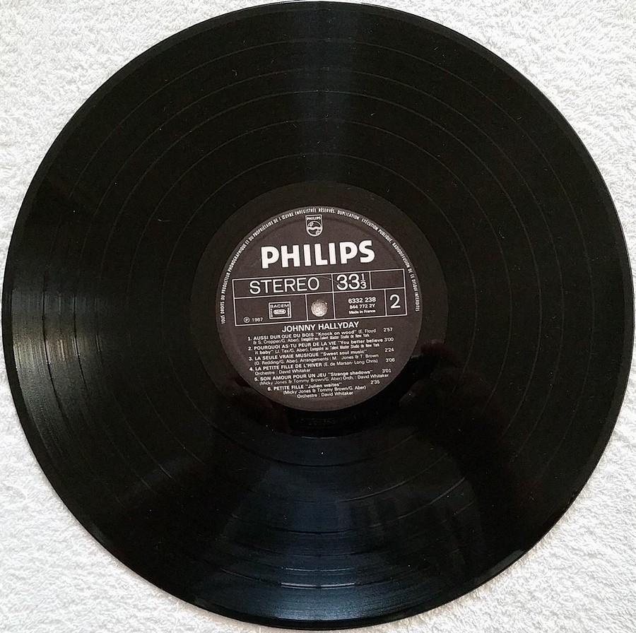 Johnny 67 ( 33 TOURS )( TOUTES LES EDITIONS )( 1967 - 2020 ) 1972_116