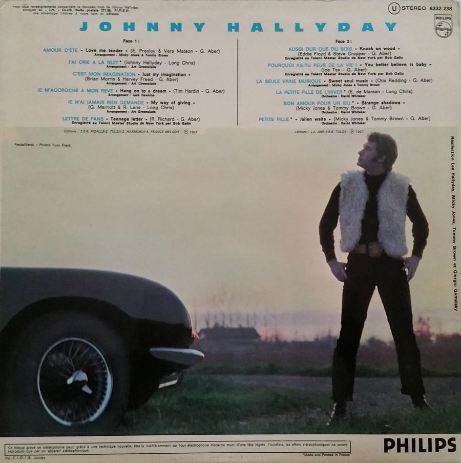 Johnny 67 ( 33 TOURS )( TOUTES LES EDITIONS )( 1967 - 2020 ) 1972_119