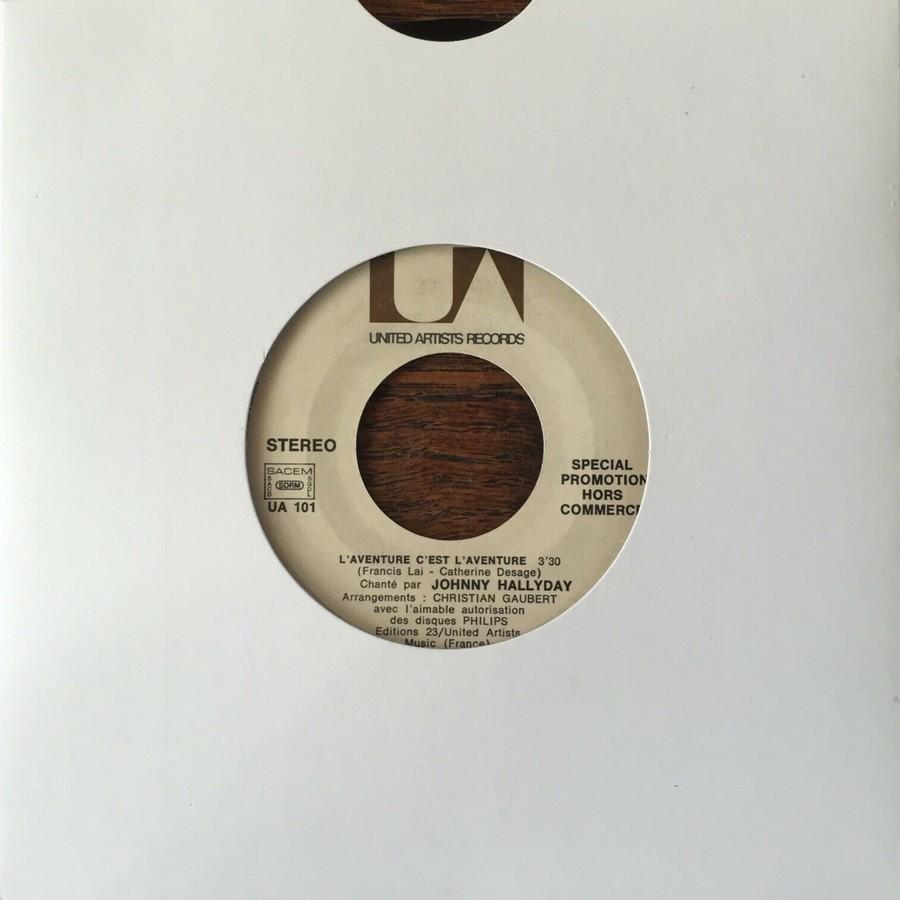 L'AVENTURE C'EST L'AVENTURE ( SP - LP )( TOUTES LES EDITIONS )( 1972-2018 ) 1972_120