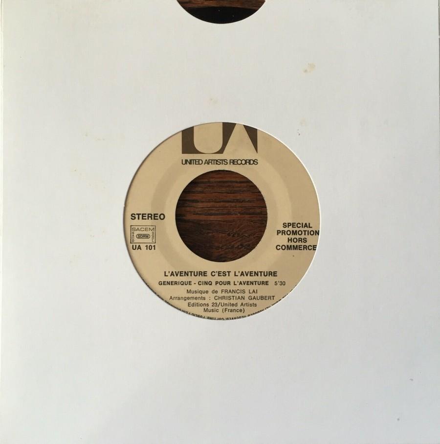 L'AVENTURE C'EST L'AVENTURE ( SP - LP )( TOUTES LES EDITIONS )( 1972-2018 ) 1972_121