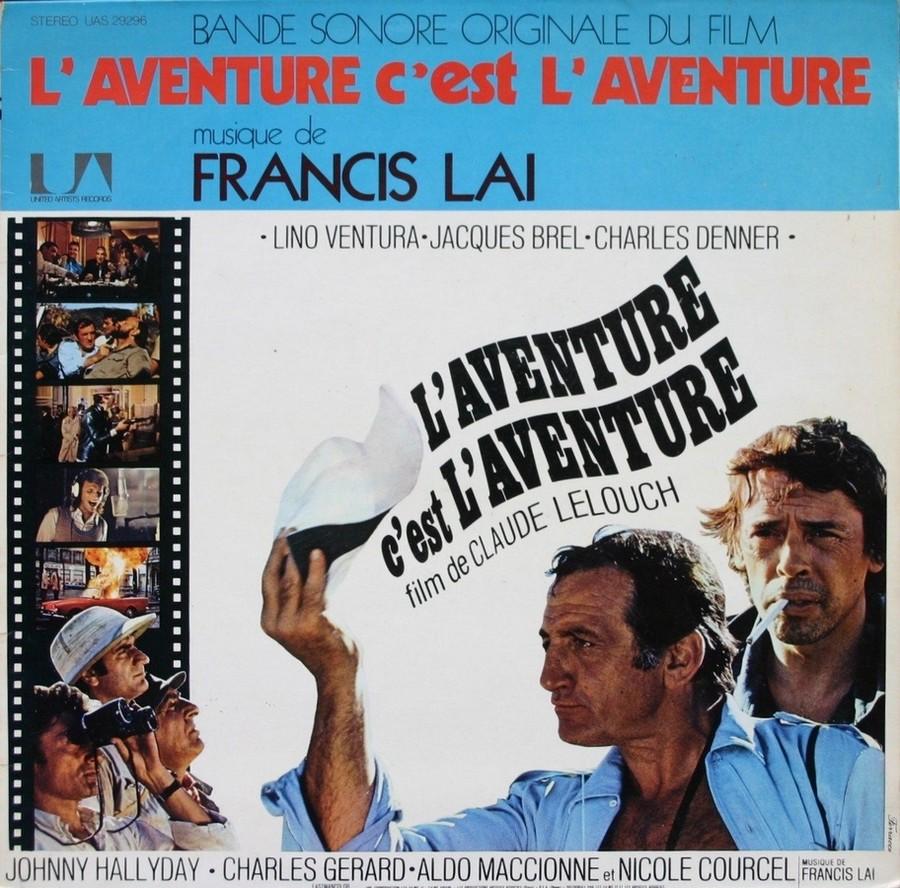 L'AVENTURE C'EST L'AVENTURE ( SP - LP )( TOUTES LES EDITIONS )( 1972-2018 ) 1972_214