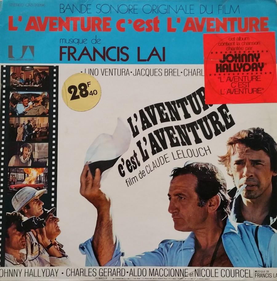 L'AVENTURE C'EST L'AVENTURE ( SP - LP )( TOUTES LES EDITIONS )( 1972-2018 ) 1972_216