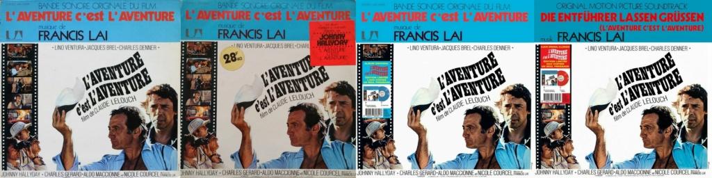 L'AVENTURE C'EST L'AVENTURE ( SP - LP )( TOUTES LES EDITIONS )( 1972-2018 ) 1972_242