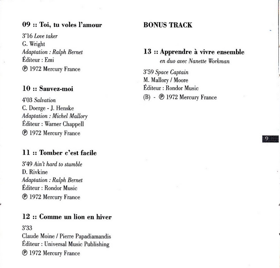 COLLECTION DES 40 ALBUMS CD ( UNIVERSAL )( 2000 ) - Page 2 1972_c22
