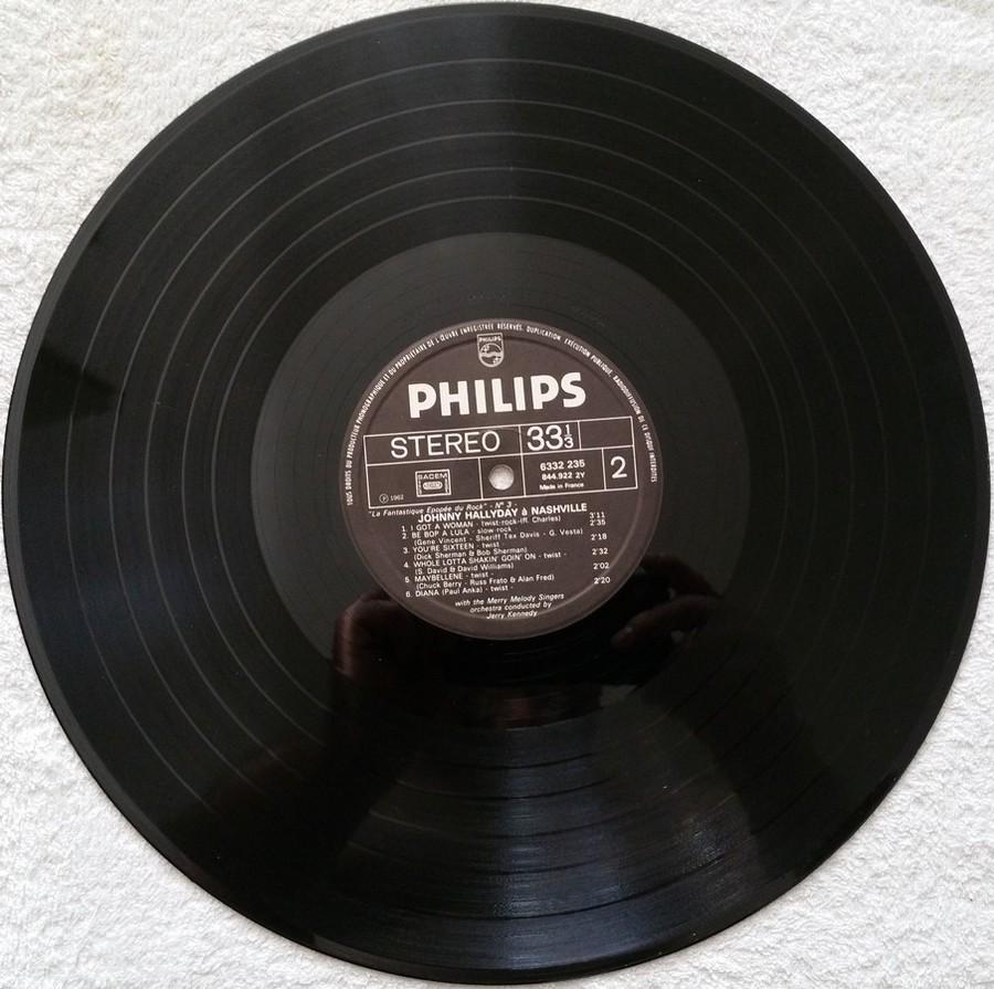 JOHNNY HALLYDAY A NASHVILLE ( 33 TOURS )( TOUTES LES EDITIONS )( 1968 - 1982 ) 1972_j14