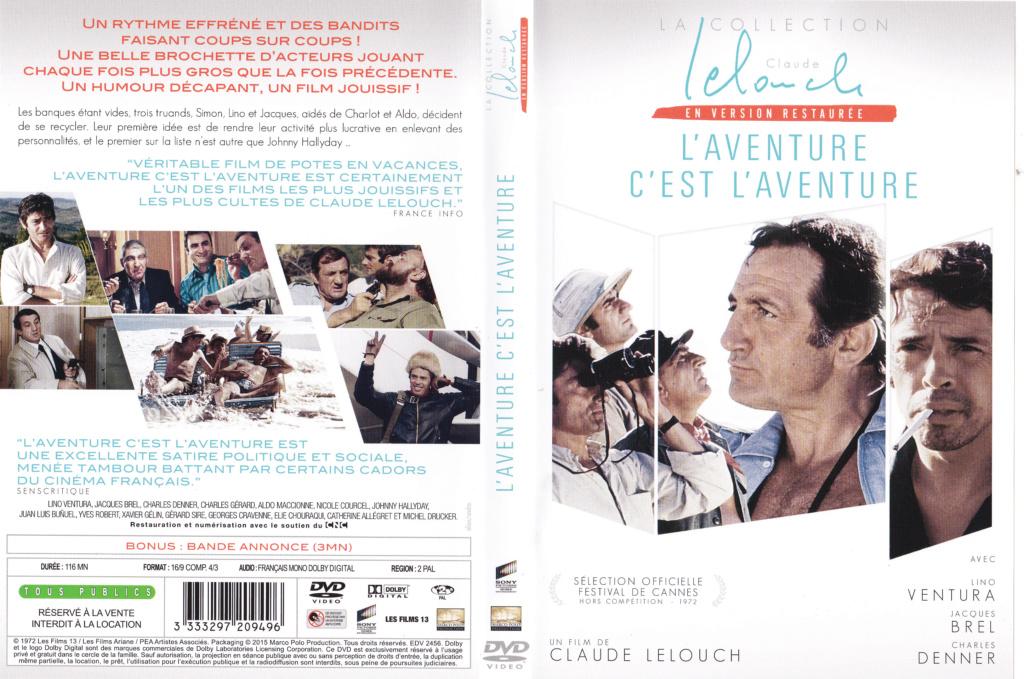 JAQUETTE DVD FILMS ( Jaquette + Sticker ) 1972_l16