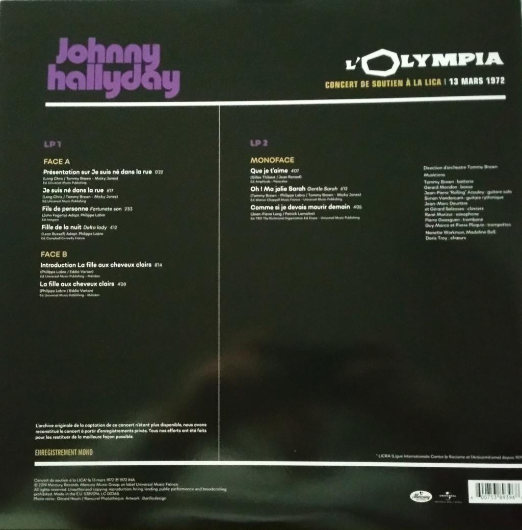 COFFRET OLYMPIA VINYLES ( 7 albums é disques ) 1972_m23