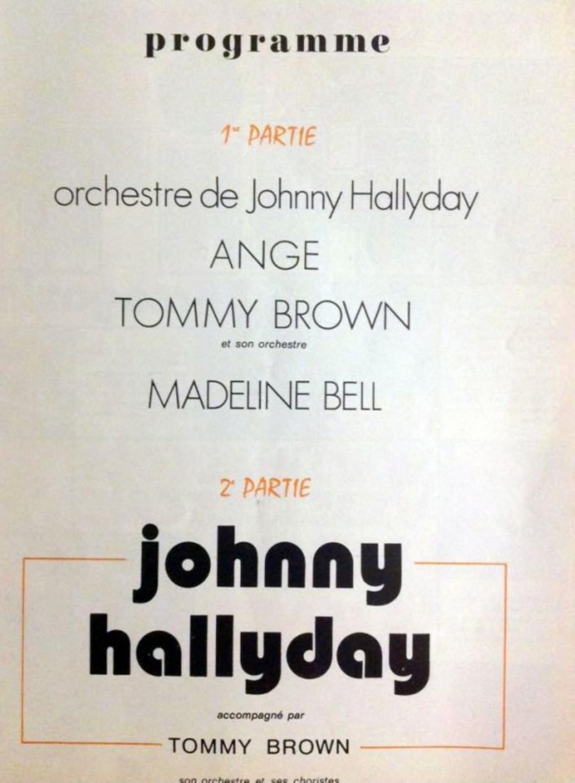 LES CONCERTS DE JOHNNY 'TOURNEE JOHNNY CIRCUS 1972' 1972jo10