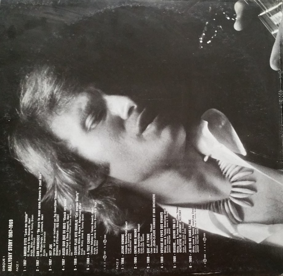 HALLYDAY STORY 1961-1966 & 1967 & 1973 ( DIFFERENTES EDITIONS ) 1973_112
