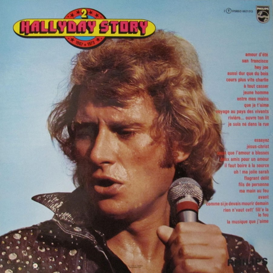 HALLYDAY STORY 1961-1966 & 1967 & 1973 ( DIFFERENTES EDITIONS ) 1973_125