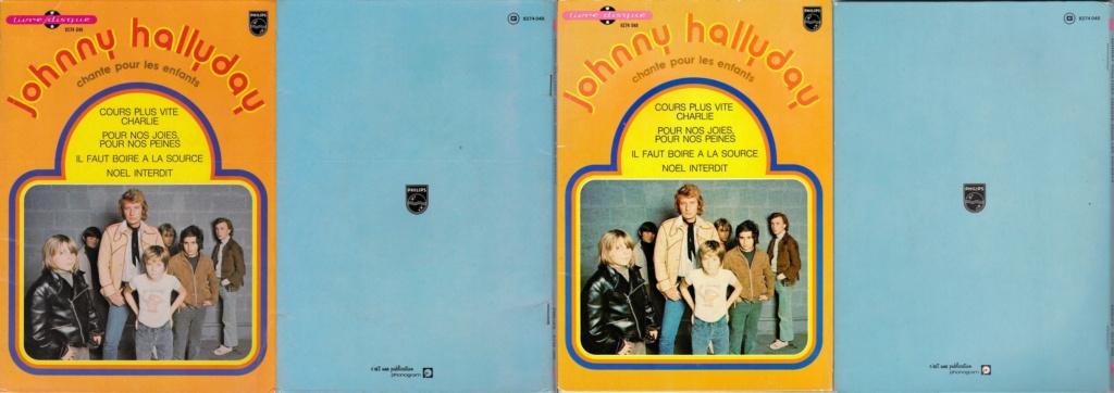 JOHNNY CHANTE POUR LES ENFANTS ( SP  45 tours )( 1973 ) 1973_213