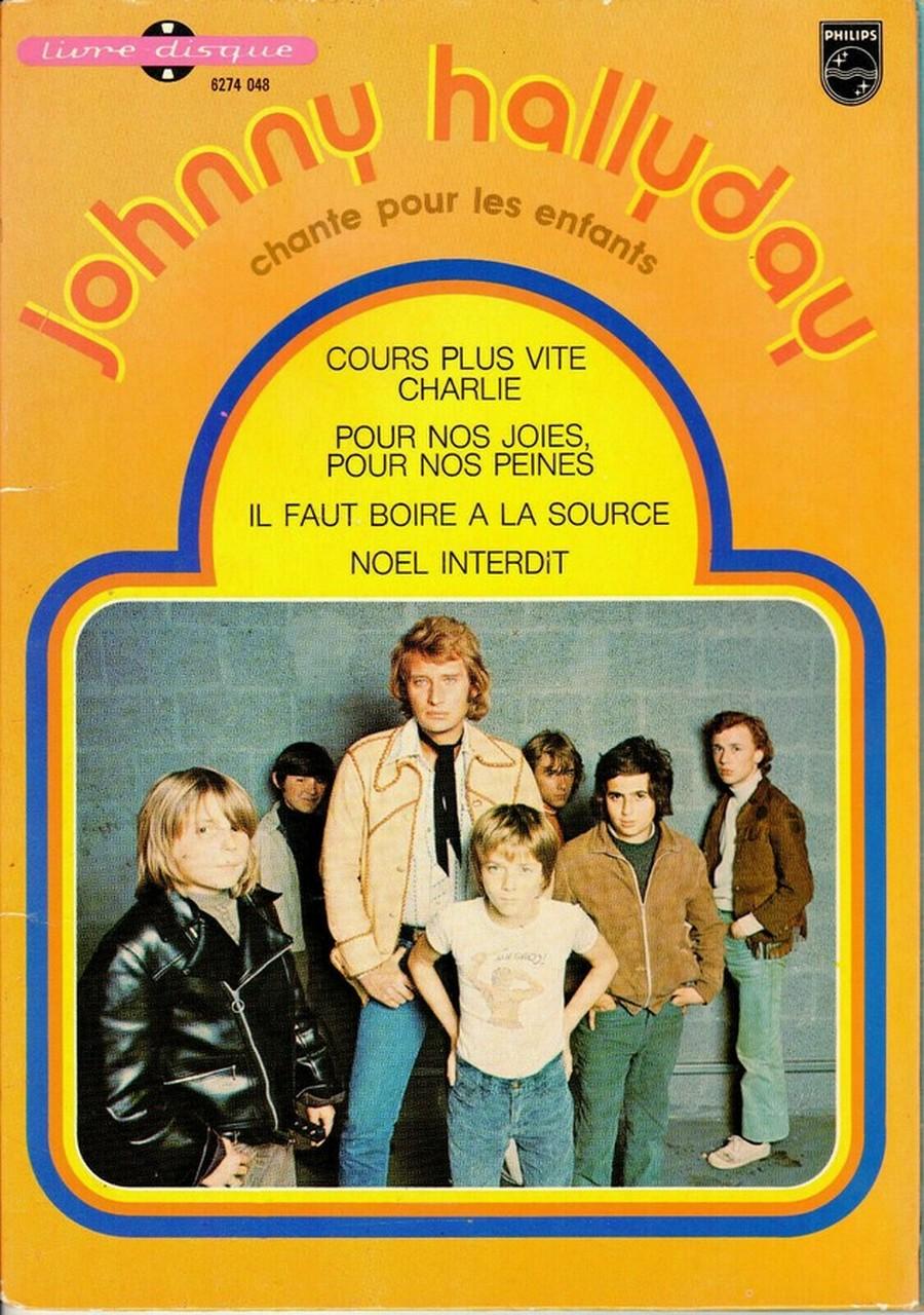 JOHNNY CHANTE POUR LES ENFANTS ( SP  45 tours )( 1973 ) 1973_253