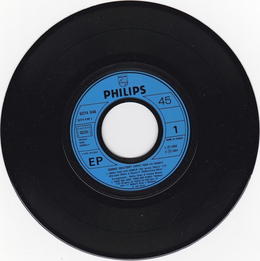 JOHNNY CHANTE POUR LES ENFANTS ( SP  45 tours )( 1973 ) 1973_267