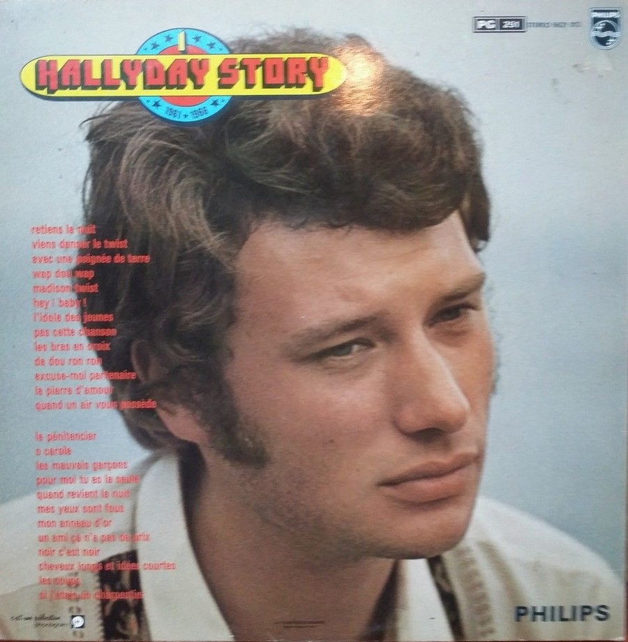 HALLYDAY STORY ( ALBUMS 2 DISQUES )( TOUTES LES EDITIONS )( 1973 - 1988 ) 1973_328