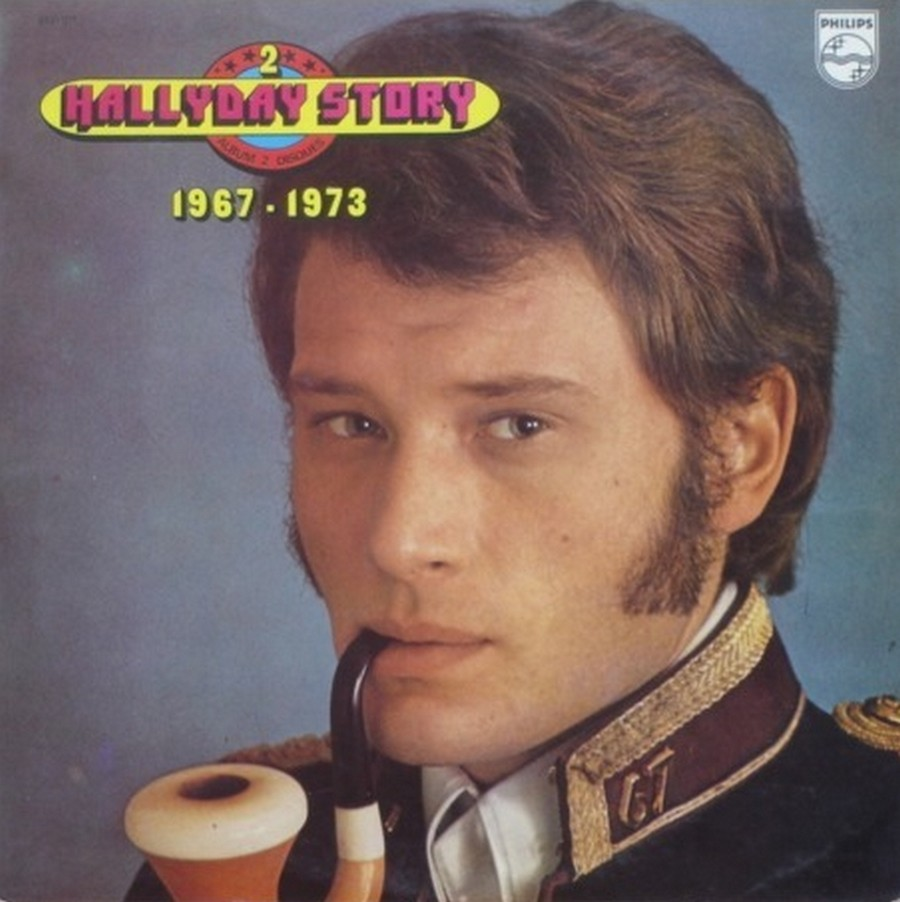HALLYDAY STORY ( ALBUMS 2 DISQUES )( TOUTES LES EDITIONS )( 1973 - 1988 ) 1973_329