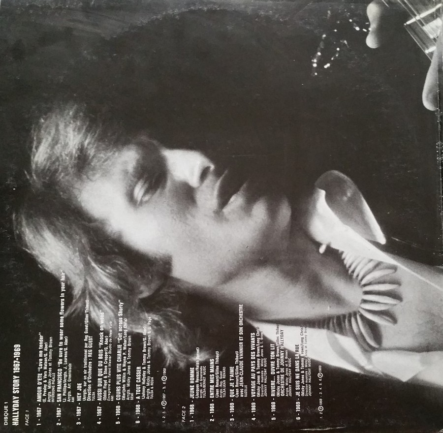 HALLYDAY STORY ( ALBUMS 2 DISQUES )( TOUTES LES EDITIONS )( 1973 - 1988 ) 1973_331