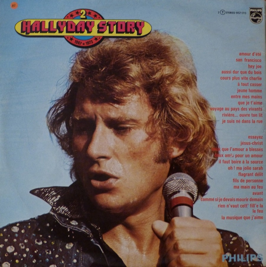 HALLYDAY STORY ( ALBUMS 2 DISQUES )( TOUTES LES EDITIONS )( 1973 - 1988 ) 1973_335