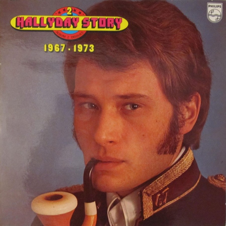HALLYDAY STORY ( ALBUMS 2 DISQUES )( TOUTES LES EDITIONS )( 1973 - 1988 ) 1973_337