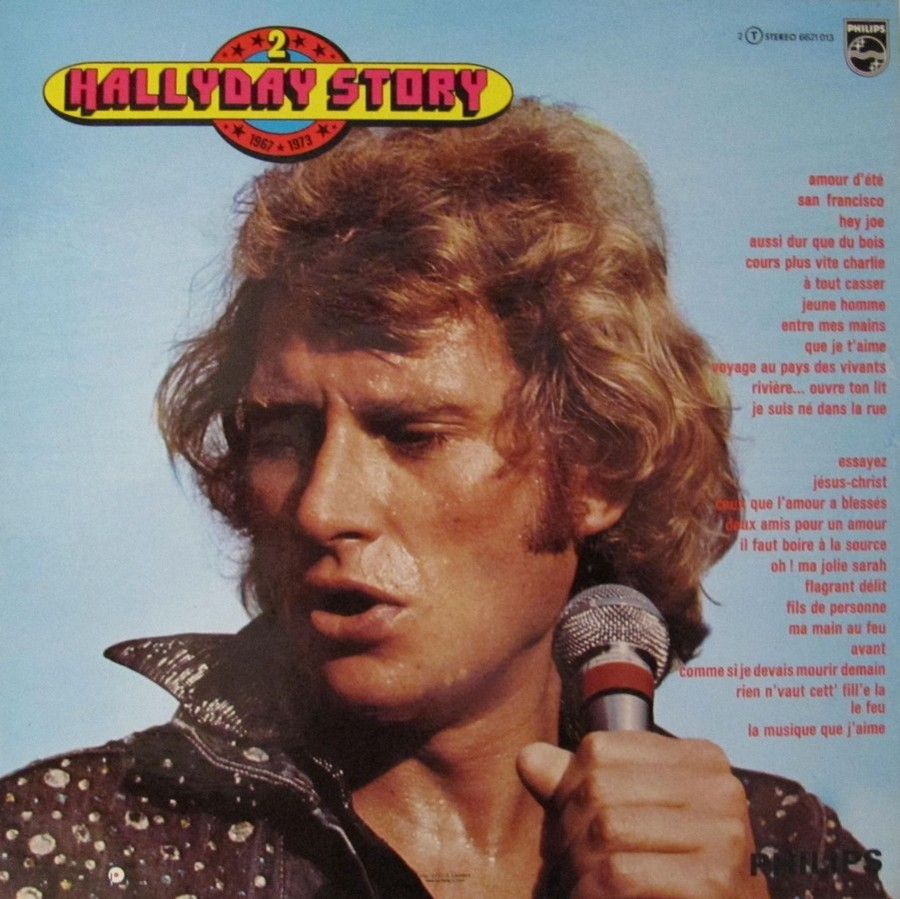 HALLYDAY STORY ( ALBUMS 2 DISQUES )( TOUTES LES EDITIONS )( 1973 - 1988 ) 1973_343