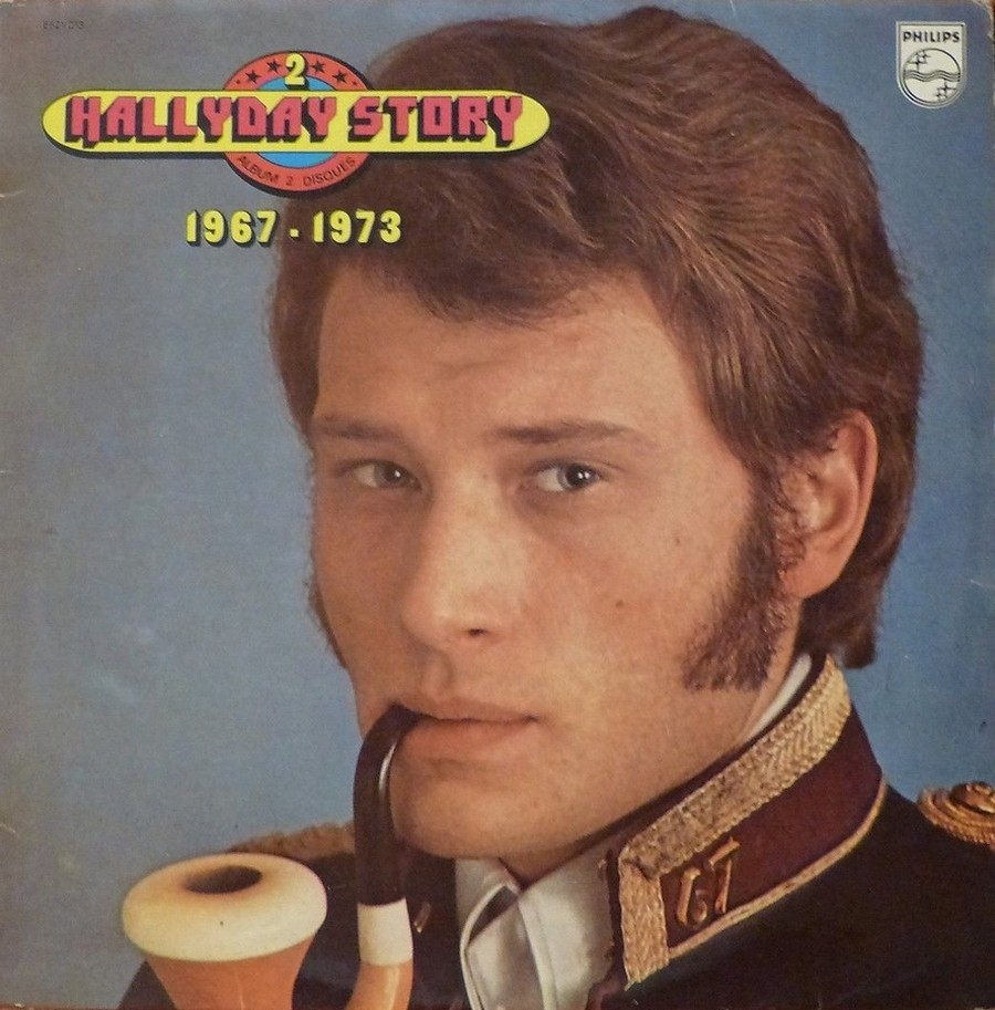 HALLYDAY STORY ( ALBUMS 2 DISQUES )( TOUTES LES EDITIONS )( 1973 - 1988 ) 1973_345