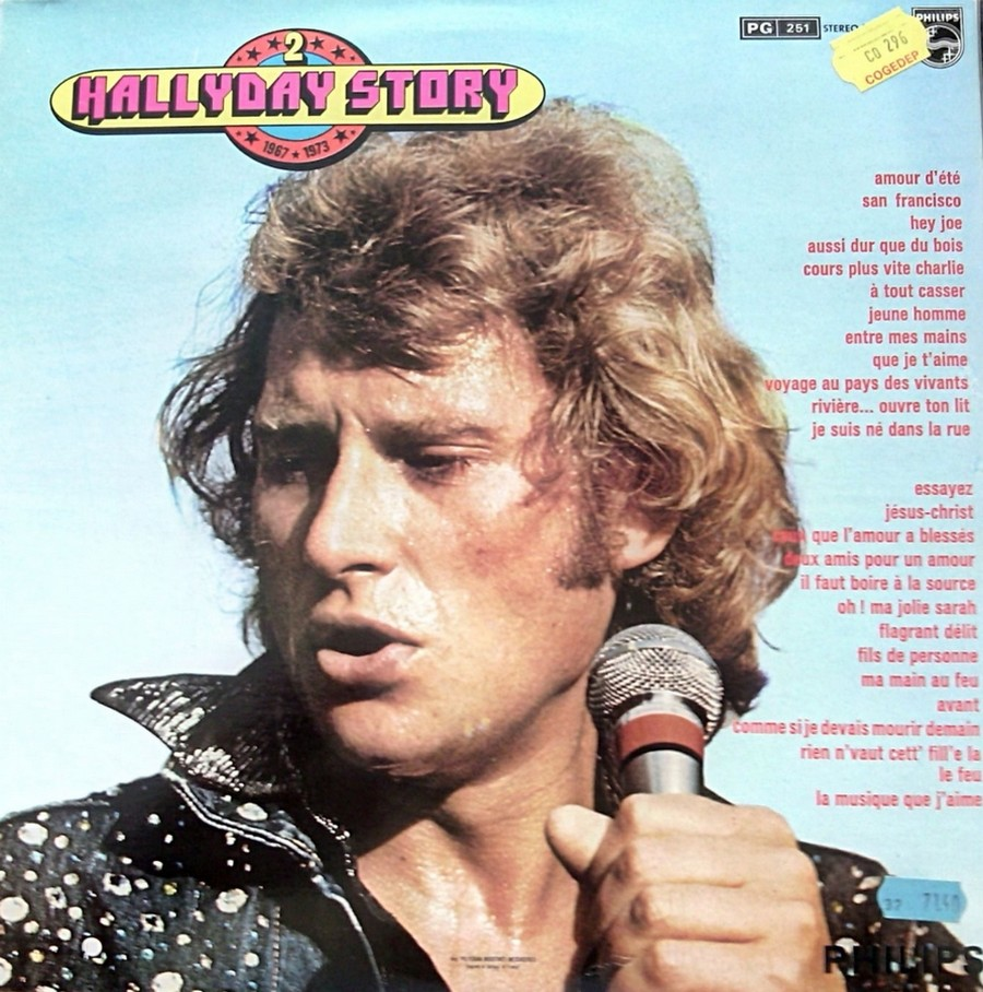 HALLYDAY STORY ( ALBUMS 2 DISQUES )( TOUTES LES EDITIONS )( 1973 - 1988 ) 1973_352