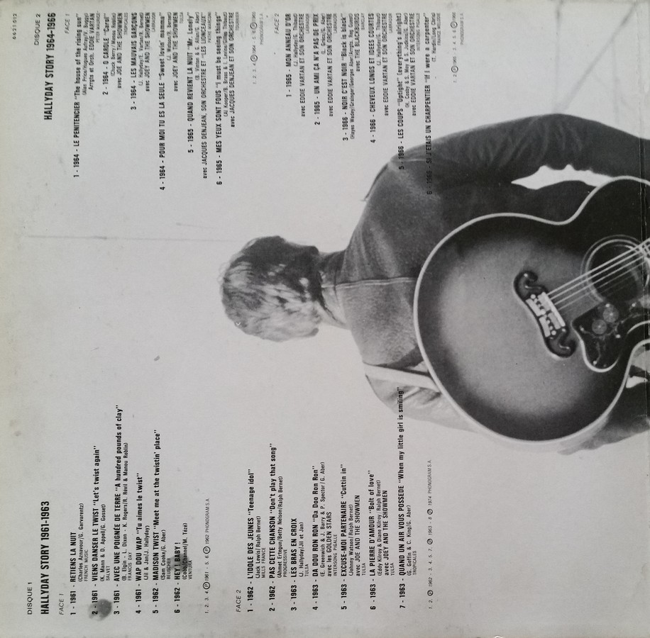 HALLYDAY STORY 1961-1966 & 1967 & 1973 ( DIFFERENTES EDITIONS ) 1973_h95