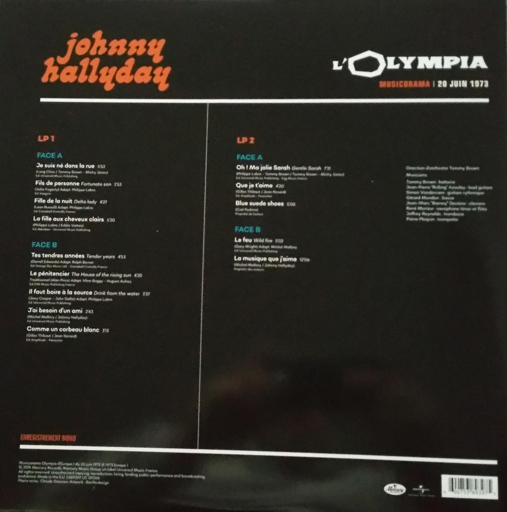 COFFRET OLYMPIA VINYLES ( 7 albums é disques ) 1973_m22