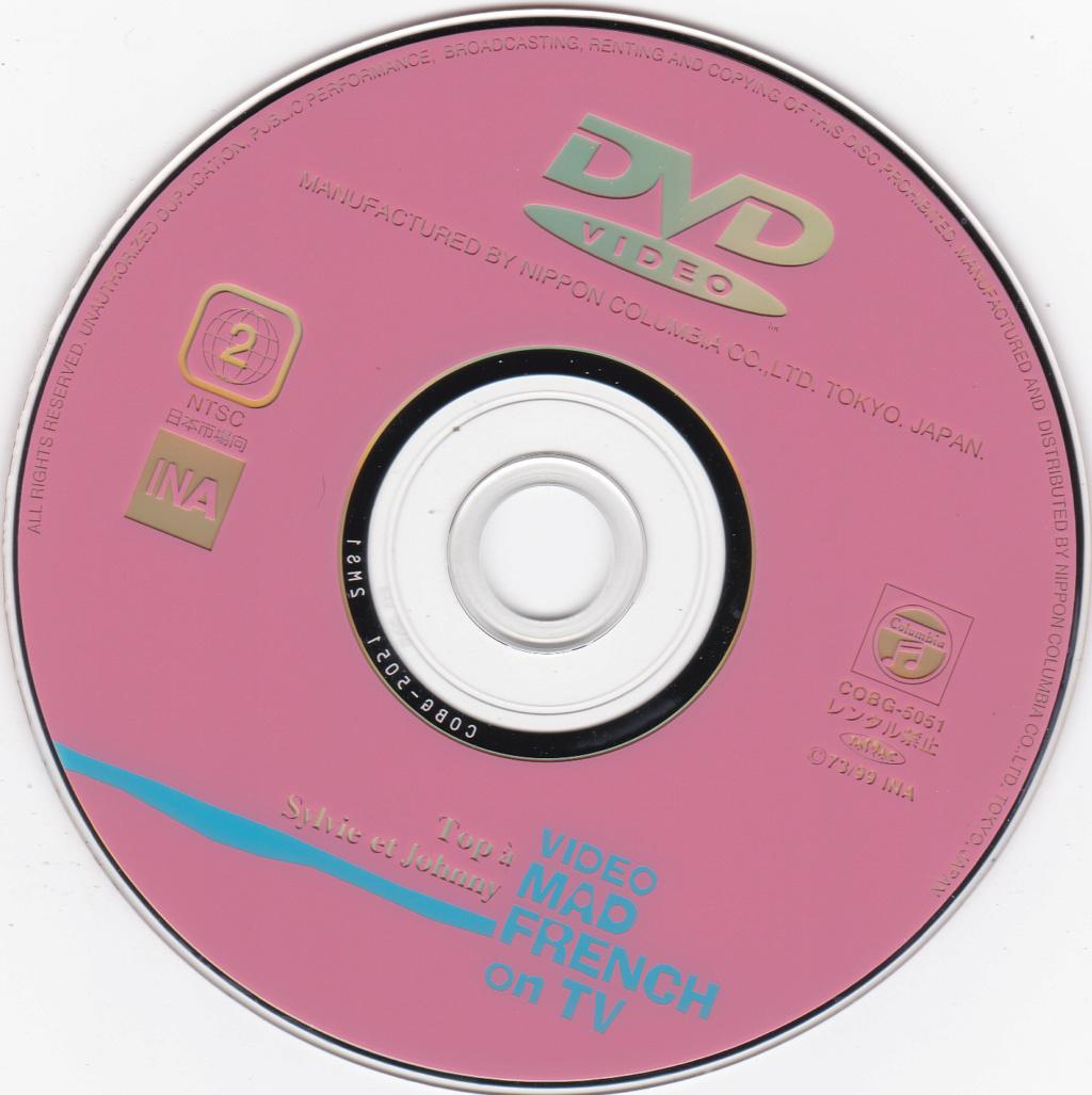 JAQUETTE DVD EMISSIONS TV , DOCUMENTS ,COMPILATIONS , ETC ( Jaquette + Sticker ) 1973_t11
