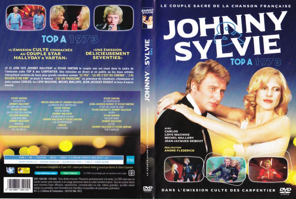 JAQUETTE DVD EMISSIONS TV , DOCUMENTS ,COMPILATIONS , ETC ( Jaquette + Sticker ) 1973_t14