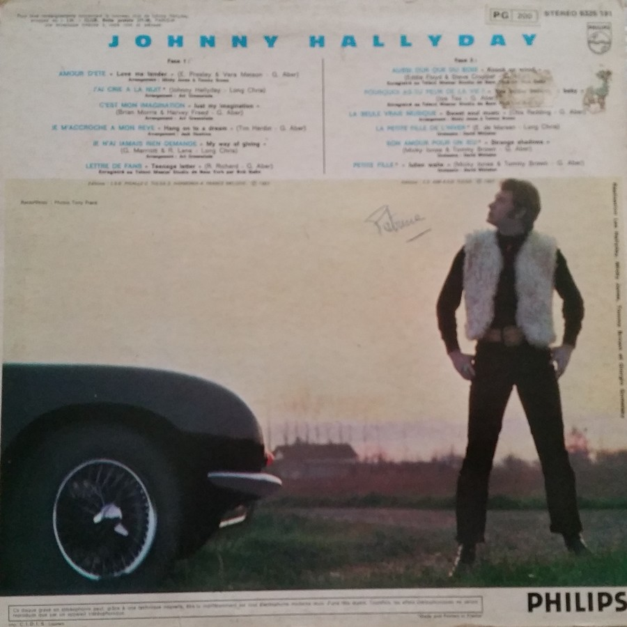Johnny 67 ( 33 TOURS )( TOUTES LES EDITIONS )( 1967 - 2020 ) 1974_125