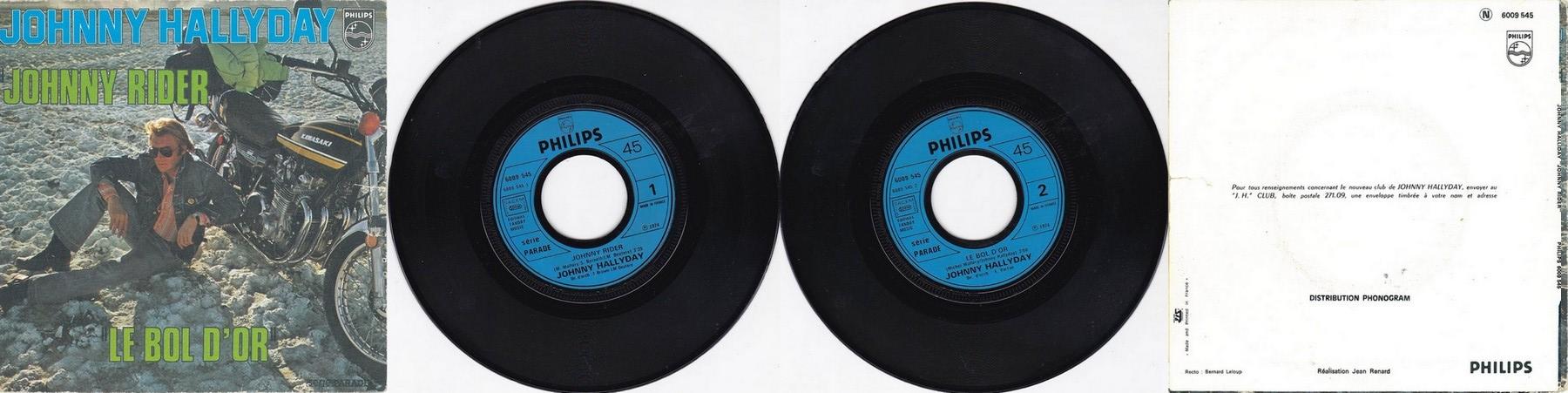 KAWASAKI 900 Z1 DE JOHNNY HALLYDAY ( 1974 ) 1974_268