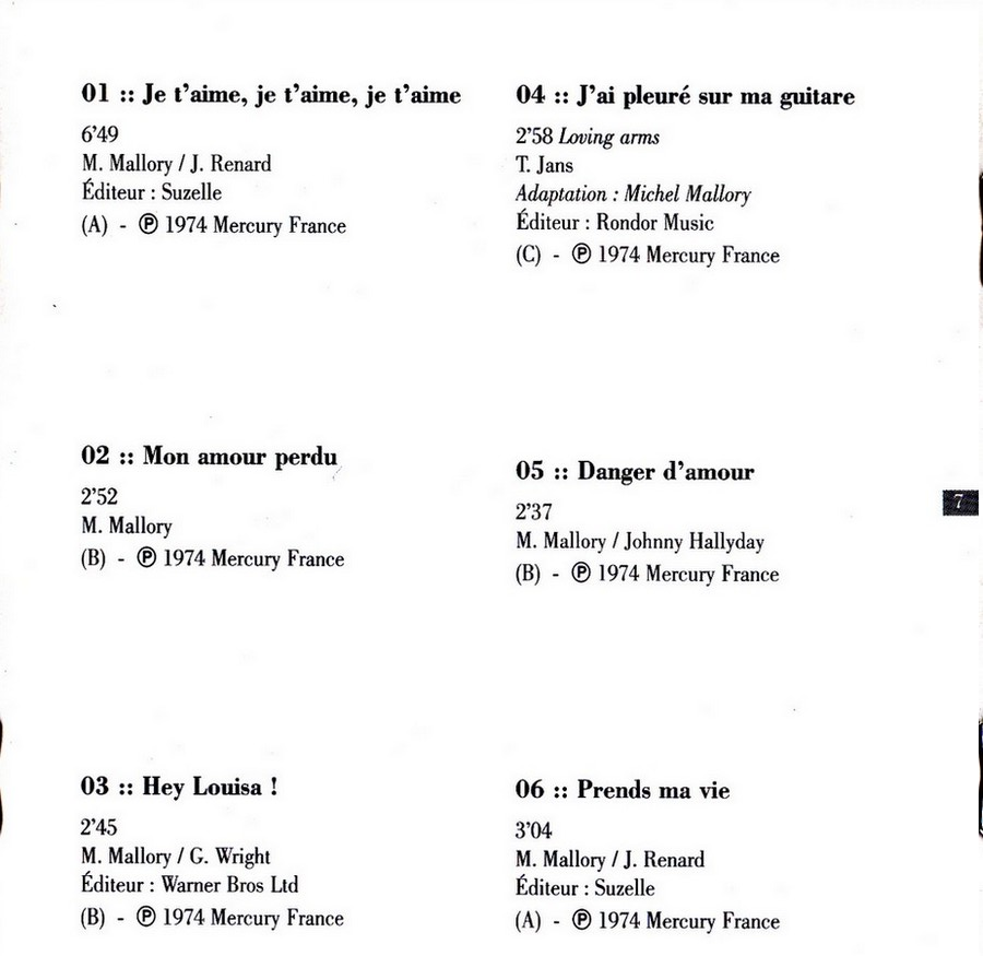 COLLECTION DES 40 ALBUMS CD ( UNIVERSAL )( 2000 ) - Page 2 1974_j22